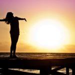 dawn-sunset-beach-woman-39853